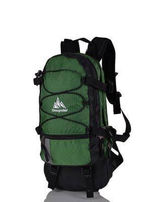 Рюкзак чорно-зелений | 3924355