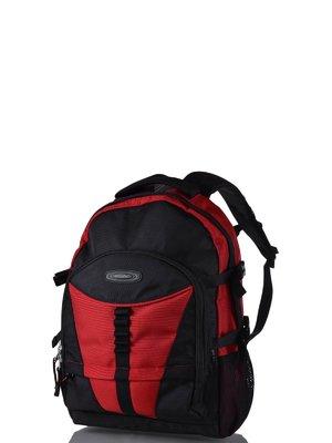 Рюкзак червоно-чорний | 3924356