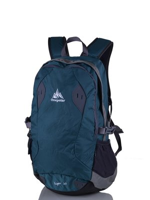 Рюкзак бірюзово-сірий | 3924389