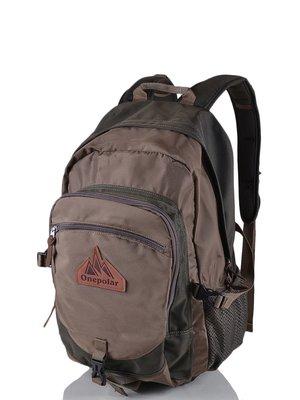Рюкзак темно-оливкового кольору | 3924391