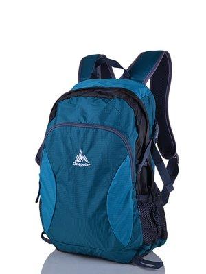 Рюкзак бірюзово-сірий | 3924392