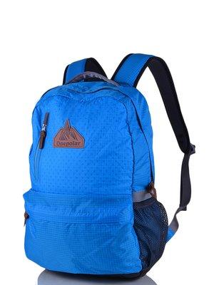 Рюкзак серо-голубой | 3924405