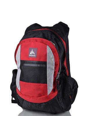 Рюкзак черно-красный | 3924419