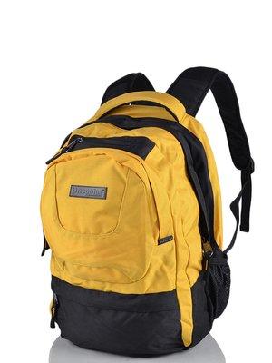Рюкзак чорно-жовтий | 3924420