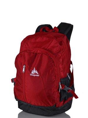 Рюкзак красно-серый   3924428