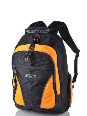Рюкзак чорно-жовтий | 3924433