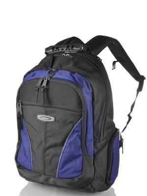 Рюкзак синьо-чорний | 3924434