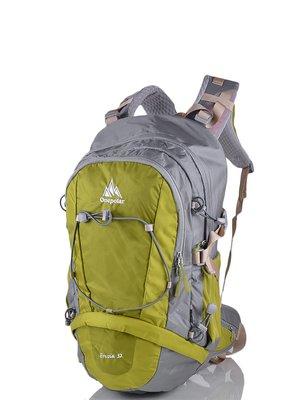 Рюкзак сіро-зелений | 3924451