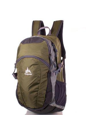 Рюкзак сіро-зелений | 3924480