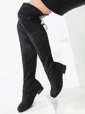 Сапоги-чулки черные | 3920065