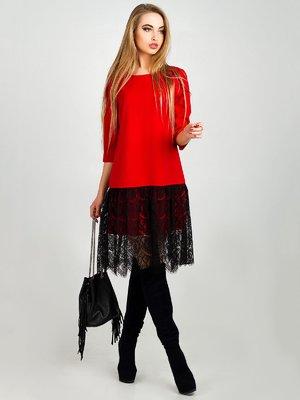 Платье красное | 3924365