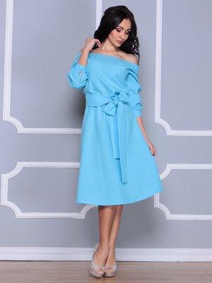 Платье голубое | 3926382