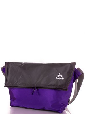 Сумка сіро-фіолетова | 3924508