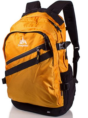 Рюкзак жовто-чорний | 3924543