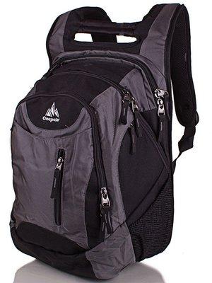 Рюкзак сіро-чорний | 3924553