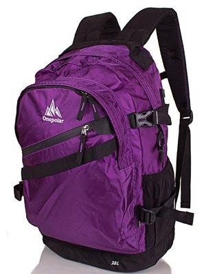 Рюкзак фіолетово-чорний | 3924595