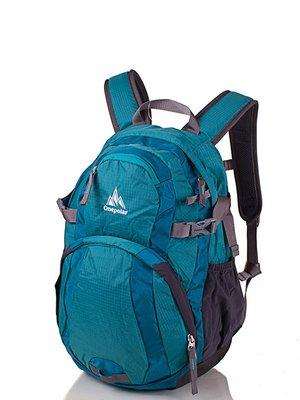 Рюкзак сіро-бірюзовий | 3924601