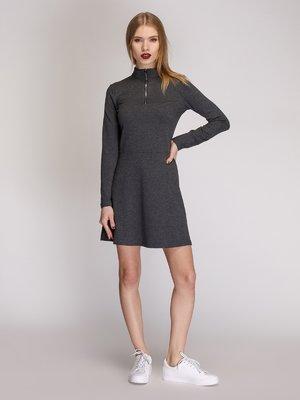 Сукня кольору сірий меланж | 3924040