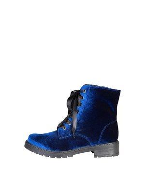 Ботинки синие | 3837525