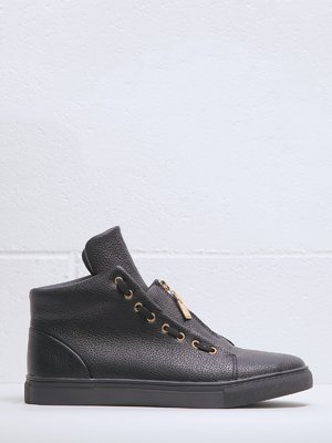 Ботинки черные | 3837606