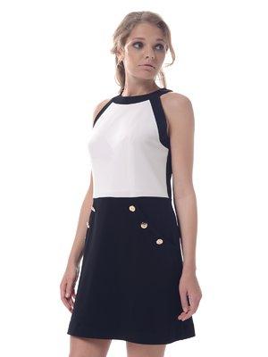 Платье черно-белое   3918286