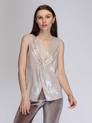 Блуза золотистого цвета   3911000
