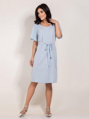 Платье голубое | 3943485