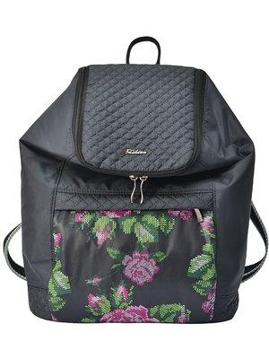 Рюкзак черный с принтом   3901881