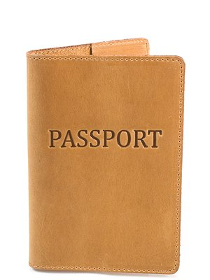 Обкладинка для документів жовто-коричнева | 3945769
