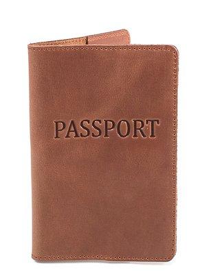 Обложка для документов коричневая | 3945771