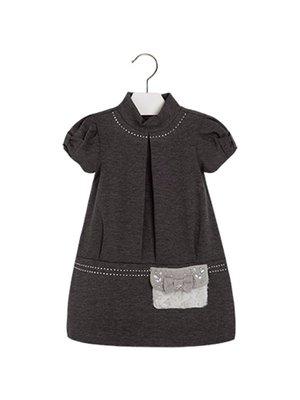 Платье серое | 3835403