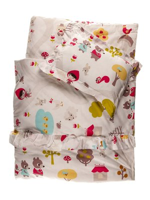 Набор в детскую кроватку: одеяло и подушка | 3936154
