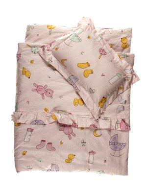 Набор в кроватку: одеяло и подушка | 3936155