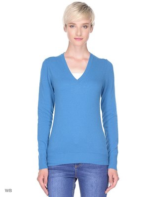 Пуловер голубой   3520507