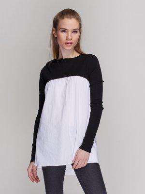 Блуза двухцветная | 3911950