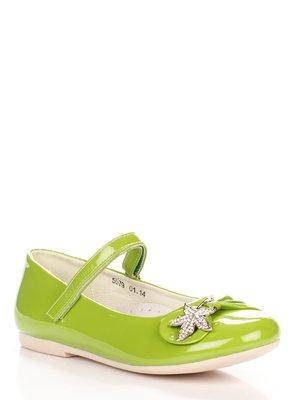Туфлі салатові | 3902715