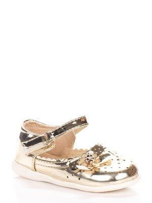 Туфли золотистые | 3919145