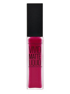 Блеск для губ Color sensational vivid matte № 40 — ягодный бунт (8 мл) | 3956173