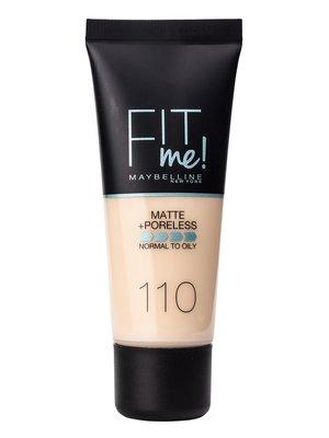 Крем тональный Fit me matte + poreless № 110 (30 мл) | 3956258