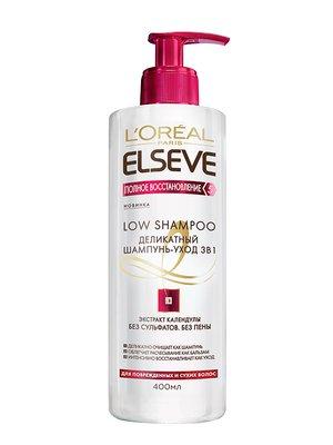 Шампунь Elseve «Повне відновлення 5» для пошкодженого і сухого волосся (400 мл) - L'Oréal Paris - 3956522