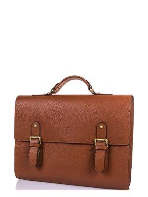 Портфель рудувато-коричневого кольору | 3958520