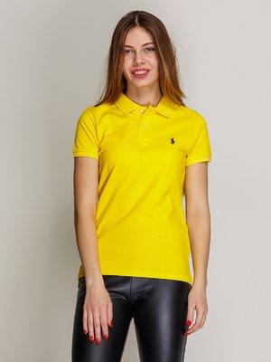 Футболка-поло жовта   2973787