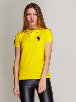 Футболка-поло жовта | 2973775