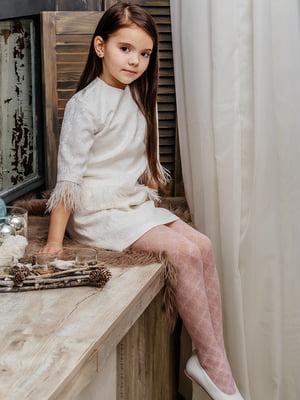 Платье молочного цвета | 3958936
