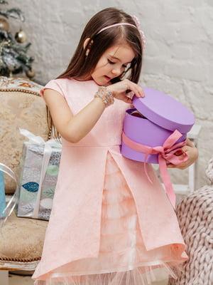 Платье персикового цвета | 3958940