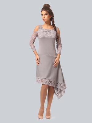 Сукня світло-сіра   3958988