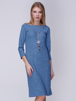 Платье голубое | 3961633