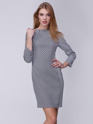 Сукня чорно-біла | 3961673