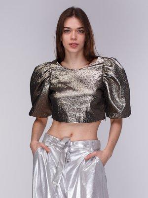 Блуза бронзового цвета   3912108