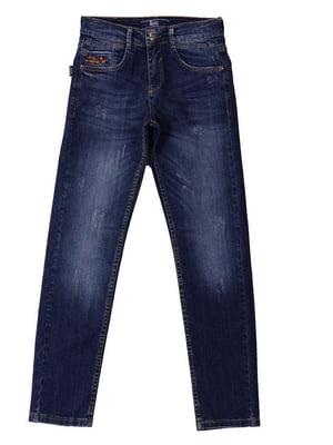 Джинси сині з вишивкою   3960897
